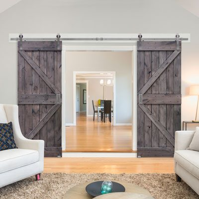 Barn Style Interior Entry Door by Barncraft Doors