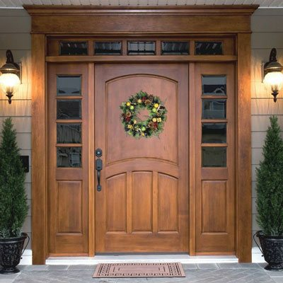 solid wood replacement door in Kingwood