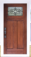 wood-replacement-door-with-decorative-top-light-conroe-tx